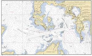 GREAT HARBOR MA INSET 3 Nautical Chart Charts Maps