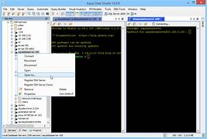 Aqua Data Studio  Secure Shell  Ssh  Environment