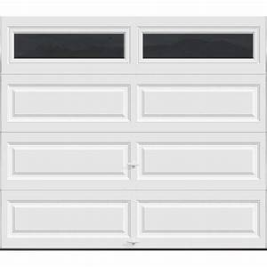 clopay premium series 8 ft x 7 ft 184 r value With 18 x 7 garage door prices
