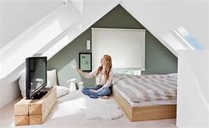 Kinderzimmer Streichen Dachschräge : dachschr ge wohnzimmer einrichten ~ Markanthonyermac.com Haus und Dekorationen
