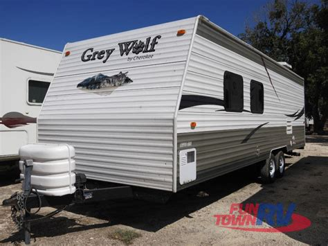 forest river rv cherokee grey wolf travel