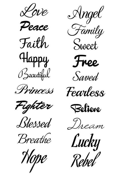 Script Temporary Tattoo Set | Sharpie | Tattoos, Tattoo fonts, Tattoo designs