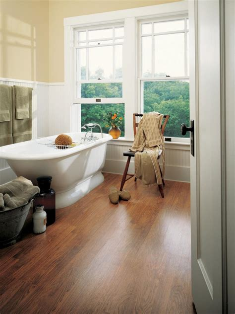 laminate bathroom floors hgtv