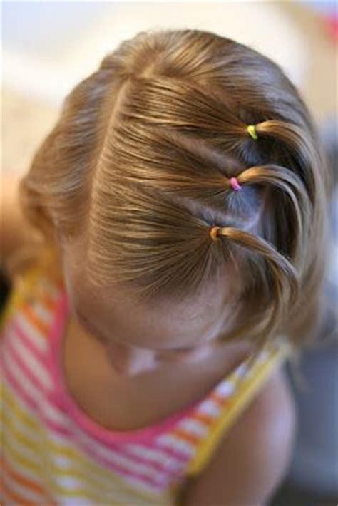 peinados  ligas  ninas tips de madre