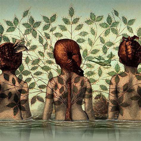 Sisters Catrin Welz Stein Art Whimsy Arte