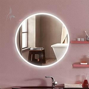 Spiegel Rund 60 Cm : runder bad spiegel led beleuchtet cottbus 60cm rund badezimmerspiegel mit licht rundum ~ Whattoseeinmadrid.com Haus und Dekorationen
