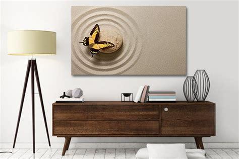 chambre deco nature tableau déco papillon izoa