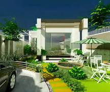 Modern House Beautiful Terrace And Landscape New Home Designs Latest Modern Homes Beautiful Garden Designs Ideas