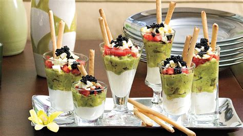 mini caviar parfaits 25 absolutely amazing appetizers
