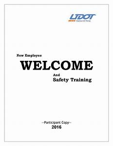 New Hire Manual By Udot University