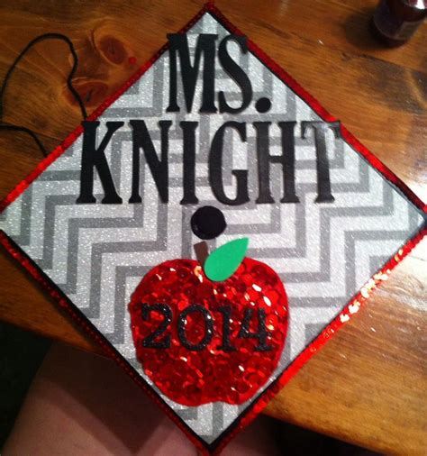 diy graduation cap teacher