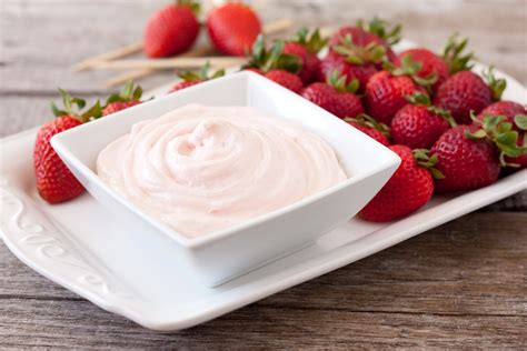 Two Ingredient Fruit Dip A 60 Second Recipe Cooking Classy