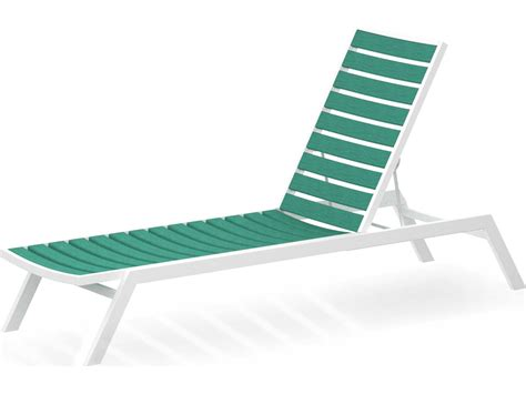 chaise en polypropylène polywood recycled plastic chaise lounge set eurochset