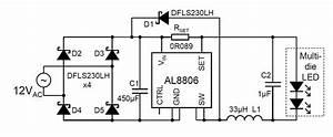 diodes led driver delivers higher current for mr16 12v With 12v led circuit