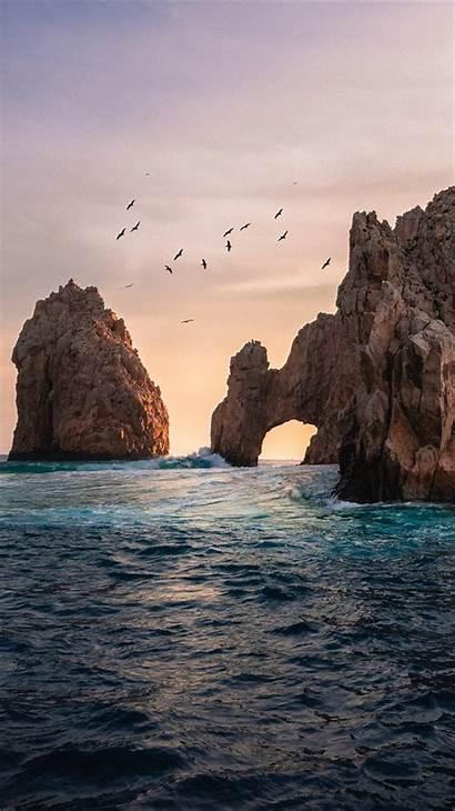 Ocean Rock Formation Iphone
