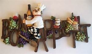 New bon appetit wall plaque wine bottles grapes wall art for Grapes furniture and home decor
