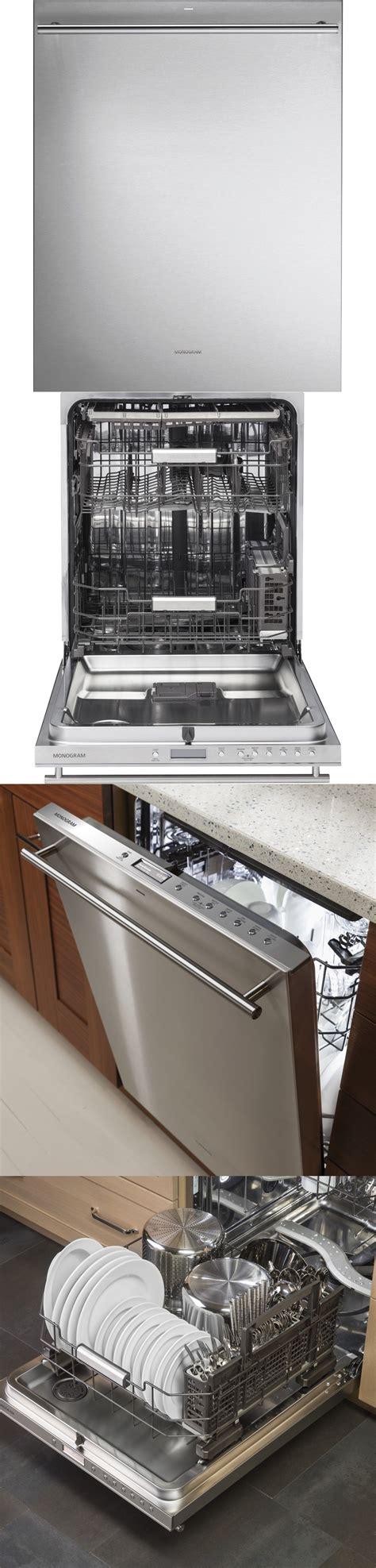 dishwashers  ge monogram zdtssjss fully integrated dishwasher stainless steel euro