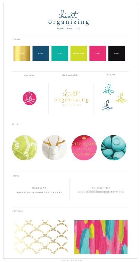 iHeart Organizing   Logo design, Branding design ...