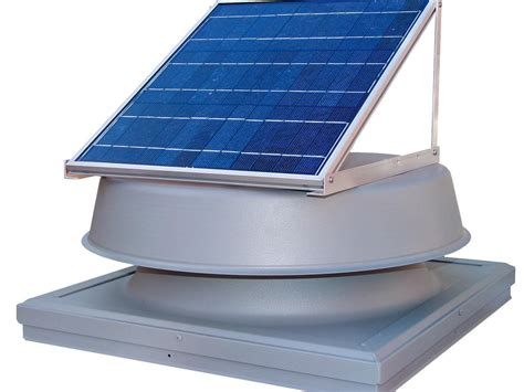 small solar attic fan solar power how to compare costs and benefits hgtv