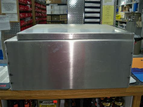Aluminum Boat Seat Boxes by Large Livewell Seat Boxes Tapered Cut Www Eberlinboats