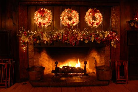 holiday fireplace rock lodge starved rock state