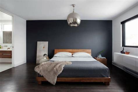 décoration chambre avec mur gris exemples d 39 aménagements