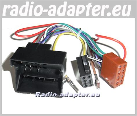 Audi A Car Radio Wiring by Audi A3 8p 8pa 2003 Car Radio Wire Harness Wiring Iso