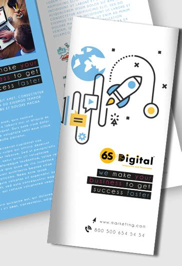 Marketing Free Tri Fold Psd Brochure Template By Free Psd Flyers Templates For Event Club And