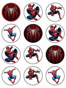 Spiderman Sugarette Cake topper - Pack of 12 sugarette 2