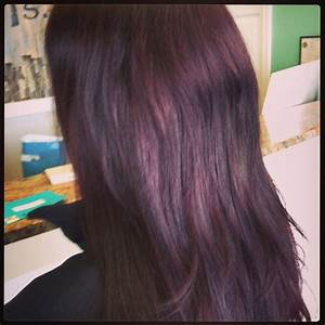 Red violet dark hair color! | Hair | Pinterest