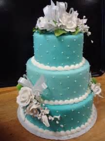wedding cake photos blue rosy wedding cake cakes picture