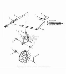 Shindaiwa T231x Parts Diagram For Flywheel  Ignition