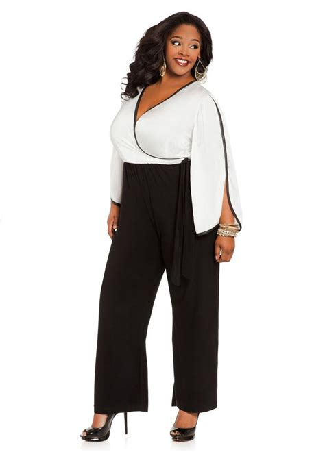 jumpsuits and rompers plus size stewart 39 s plus size color block jumpsuit 35
