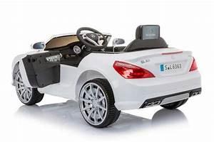Turbo Electrique Voiture : 12 volts mercedes sl63 amg turbo voiture enfant electrique blanche ~ Melissatoandfro.com Idées de Décoration