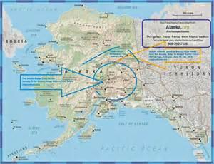 Alaska Range On Map