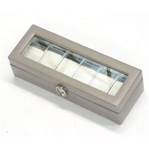 boite de rangement coffrets 224 montres cuir et synth 233 tique