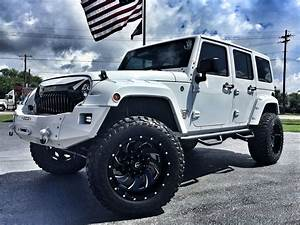 Jeep Wrangler Custom : 2017 jeep wrangler unlimited white out custom lifted leather hadtop florida bayshore automotive ~ Maxctalentgroup.com Avis de Voitures