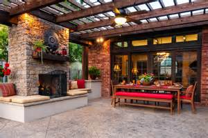 Deck Tiki Torches by 27 Ideas For Decorating Patio With Lighting Fixtures