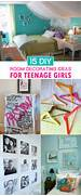 Diy Decorating Ideas For Rooms by Gallery For Easy Diy Room Decor For Teenage Girls
