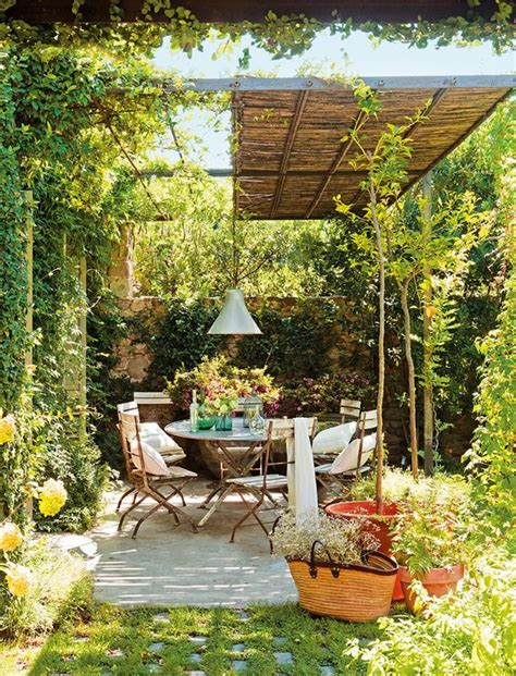 jardines   gustan ideas  decorar en jardines