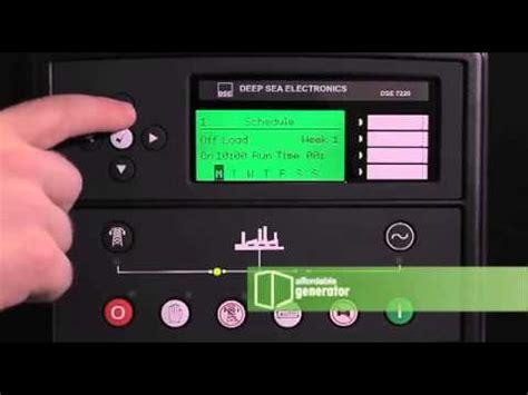 plantas electricas ajuste  horario de encendidos