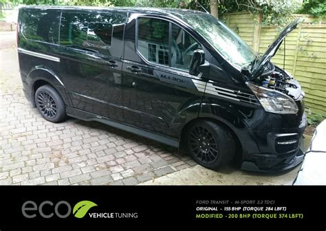 Ford Transit Custom M-Sport ECU Remap - Eco Vehicle Tuning