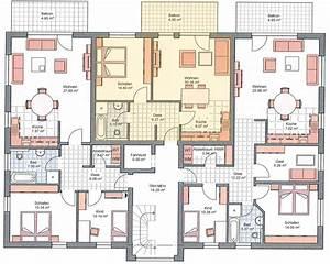 Mehrfamilienhaus Grundriss Beispiele : moderne mehrfamilienh user grundrisse ~ Watch28wear.com Haus und Dekorationen