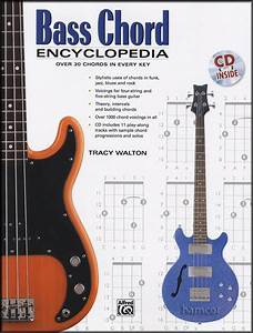 Bass Chord Encyclopedia Bass Guitar Chord Book With Cd For