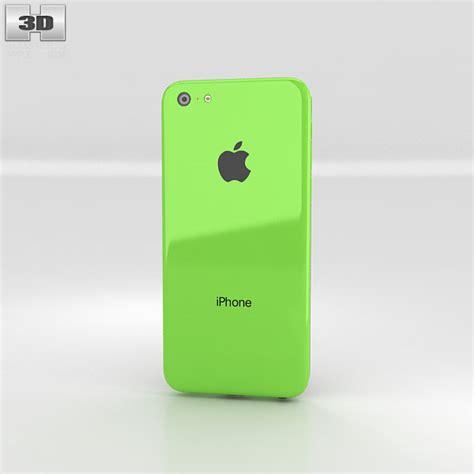 iphone 5c green apple iphone 5c green 3d model humster3d