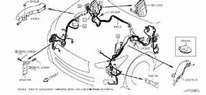 Infiniti Q50 Harness Engine Room  Strg  Power  Body