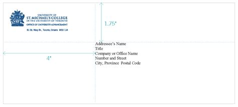 how to address an envelope format for business envelope addressing address format