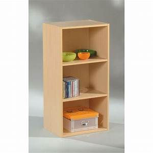 Meuble Rangement Case : meuble de rangement 3 cases 2 tag res weng achat vente petit meuble rangement meuble 3 ~ Teatrodelosmanantiales.com Idées de Décoration