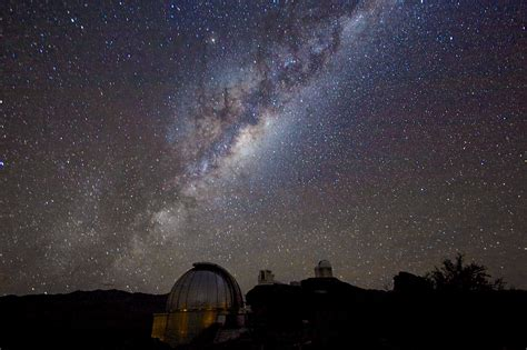 Milky Way From Silla Eso United States
