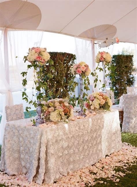 49 Best Images About Sweetheart Tables On Pinterest